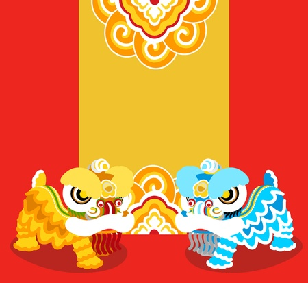 Lion Dancing and Chinese new year