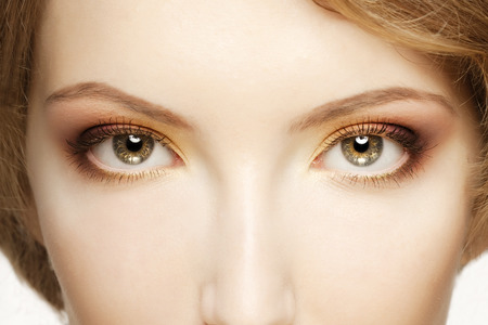 Photo for Women eyes close up - Royalty Free Image