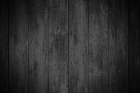 Photo for black wooden background or wood plank texture - Royalty Free Image
