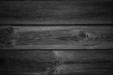 Foto de black wooden planks background or wood grain texture - Imagen libre de derechos
