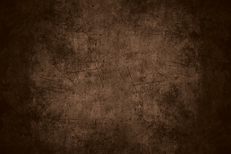 Photo pour brown scratched metal texture or rough pattern iron background - image libre de droit