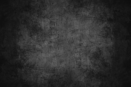 Photo for black scratched metal texture or rough pattern iron background - Royalty Free Image