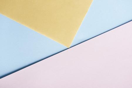 Foto de Abstract pastel geometry creative top view. - Imagen libre de derechos