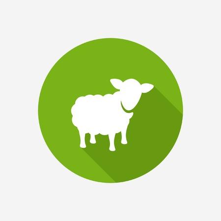 Ilustración de Sheep icon  - Imagen libre de derechos