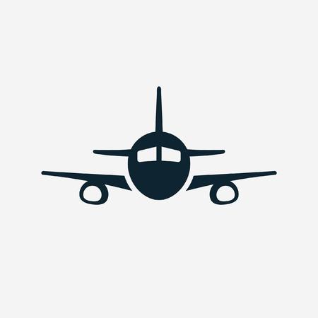Ilustración de Airplane vector icon - Imagen libre de derechos