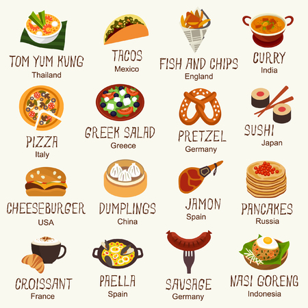 World famous food