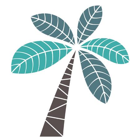 Illustration pour palm tree - image libre de droit