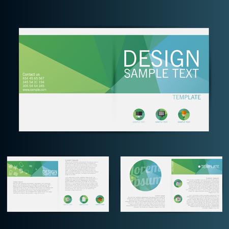 Foto de Brochure Flyer design vector template - Imagen libre de derechos