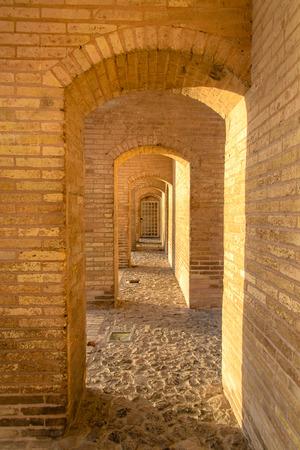 Khaju-Bridge, Isfahan, Iran