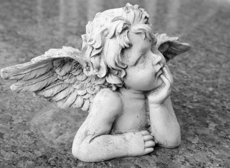 Photo for lovely angelic figurine - Royalty Free Image