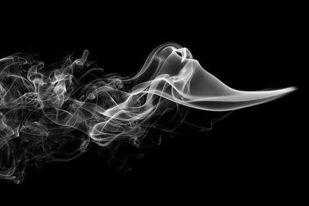 Foto de Abstract smoke black background - Imagen libre de derechos
