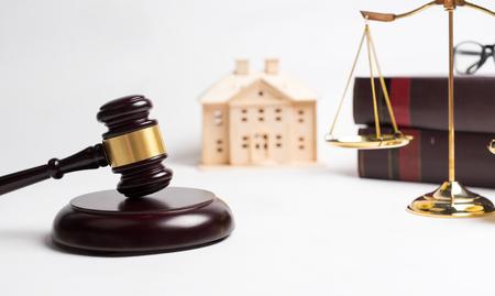 Photo pour Law of real estate and property concept. - image libre de droit