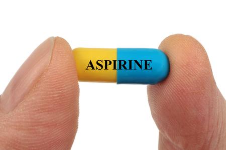 Foto de Aspirin capsule - Imagen libre de derechos