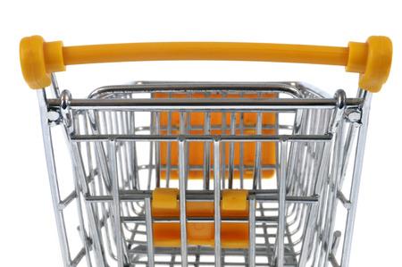 Photo pour Supermarket trolley - image libre de droit