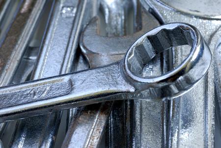 Photo pour Clamping wrench - image libre de droit