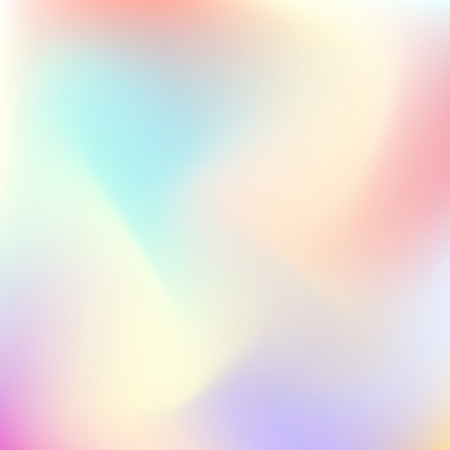 Illustration for Abstract trend gradient pastel color blur background for design concepts, web, presentations, banners and prints. Vector illustration. - Royalty Free Image