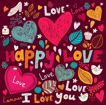 Foto de Vector art Valentine Greeting card - Imagen libre de derechos