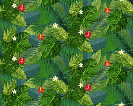 Illustration for Summer Pattern - Royalty Free Image