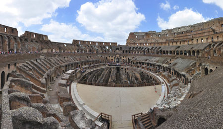 Photo for Colosseum and rome ruins, Rome, Italy - Royalty Free Image