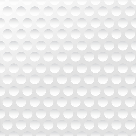 Illustration pour Golf background. Realistika texture of a golf ball. White clean background - image libre de droit