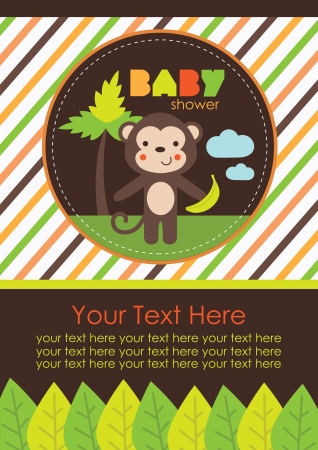 Photo pour baby shower design. vector illustration - image libre de droit