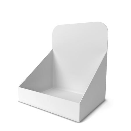Foto de Product display. 3d illustration isolated on white background - Imagen libre de derechos