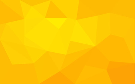 Illustration pour Yellow triangle structure abstract background - image libre de droit