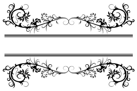 Illustration pour Floral frame - image libre de droit