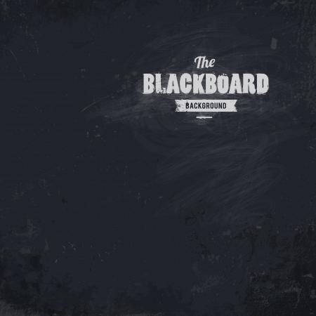 Illustration for  Blackboard background  Dirty textured illustration  - Royalty Free Image