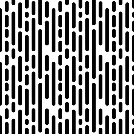 Illustration pour Seamless Pattern with Vertical Black Lines. Vector endless texture. - image libre de droit