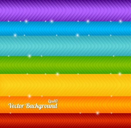 Colorful arrow vector background