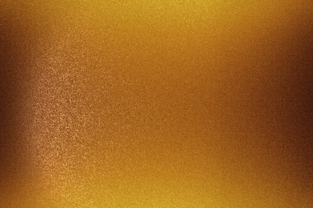 Photo for Brushed bronze metal wall, abstract texture background - Royalty Free Image
