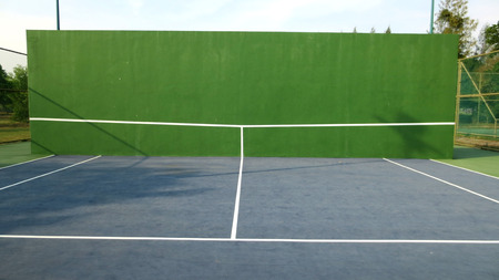 Photo for Tennis knock board on a sunny day - Royalty Free Image
