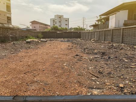 Photo pour outdoor empty land for sale at Thailand - image libre de droit