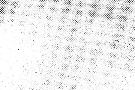 Illustration pour Grunge real organic vintage halftone vector ink print background - image libre de droit