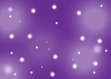 Ilustración de The purple background has sparkling stars. - Imagen libre de derechos