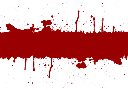 Illustration pour Abstract red ink splatter background element with a space.illustration vector - image libre de droit