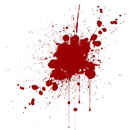 Ilustración de vector splatter red color background. illustraitttion - Imagen libre de derechos