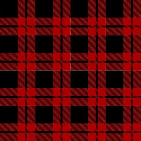 Photo for Lumberjack plaid pattern vector - Royalty Free Image
