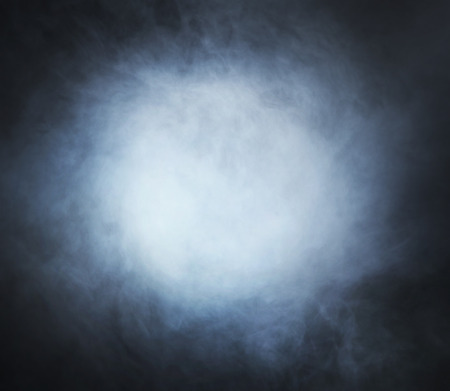 Photo for Smoke texture over blank black background - Royalty Free Image