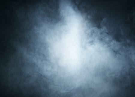 Photo for Smoke over black background - Royalty Free Image