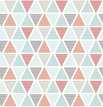 Photo for Geometric seamless pattern, can be used as background - Royalty Free Image