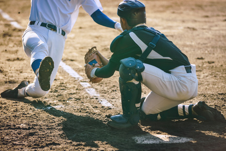 Photo pour Baseball player - image libre de droit