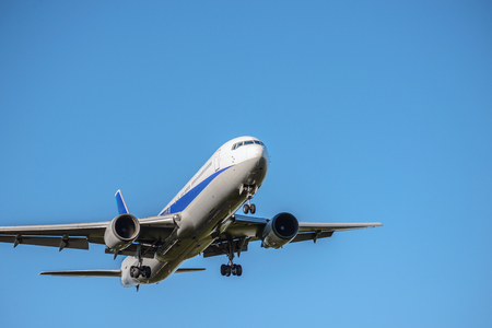 Foto de The aircraft which takes off and lands - Imagen libre de derechos