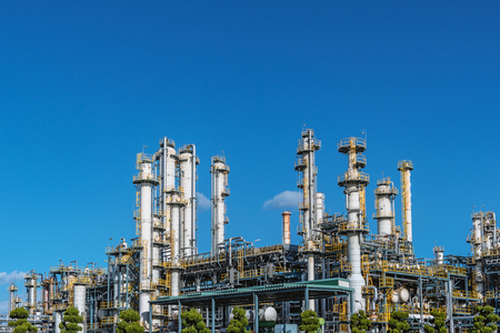 Photo for Oil refining factory - Royalty Free Image
