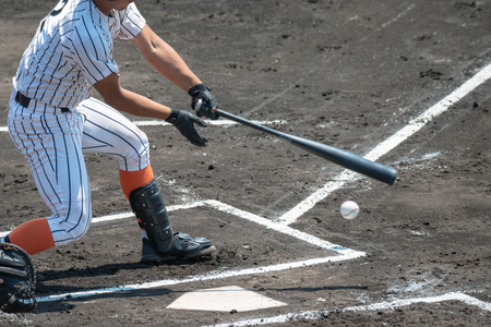 Photo pour Scenery of the baseball game - image libre de droit