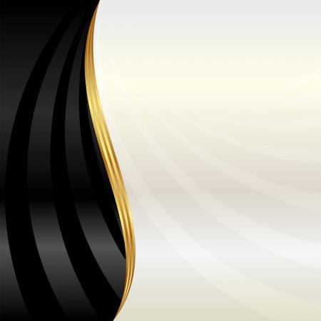 Illustration pour black and pearl background - image libre de droit