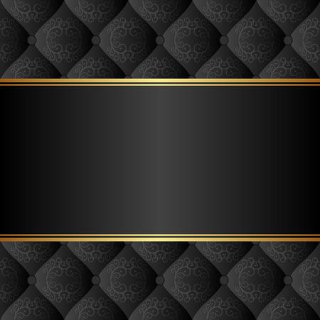 Illustration pour elegant black background - image libre de droit