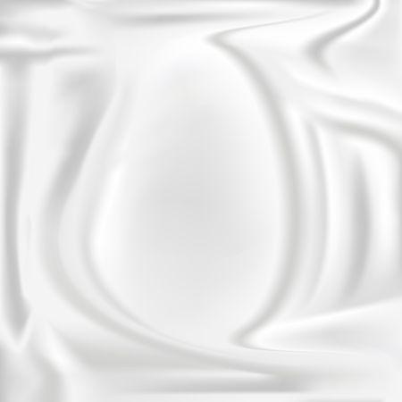 Ilustración de Smooth elegant white cloth background illustration. - Imagen libre de derechos