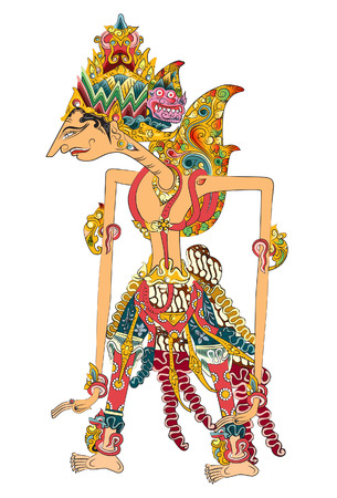Illustration pour Knight is also a king. He is seen as the Perfect Man. in the book of the Hindu epic Ramayana. - image libre de droit